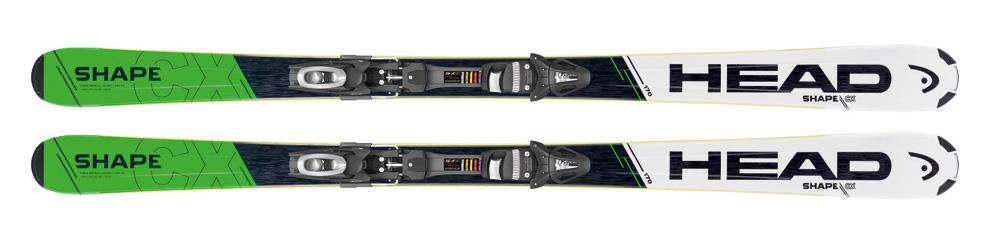 Alquiler de esquís MARCA: HEAD MODELO: SHAPE CX