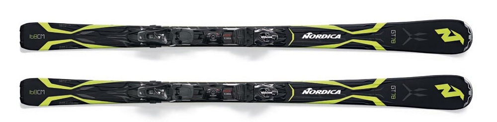 Alquiler de esquís MARCA: NORDICA MODELO: GT 78 EVO