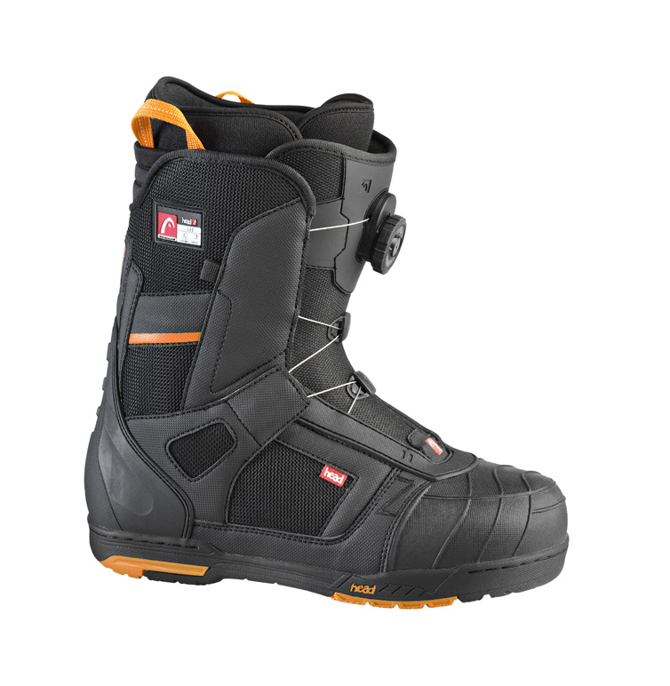 práctica del snowboard  botas Snow Head Orange