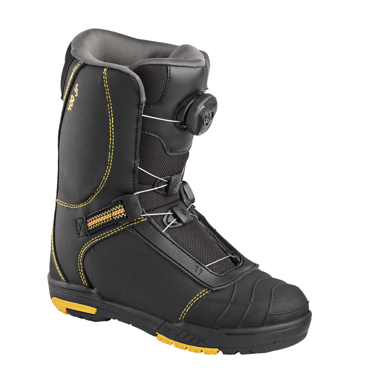 práctica del snowboard botas Snow Head yellow