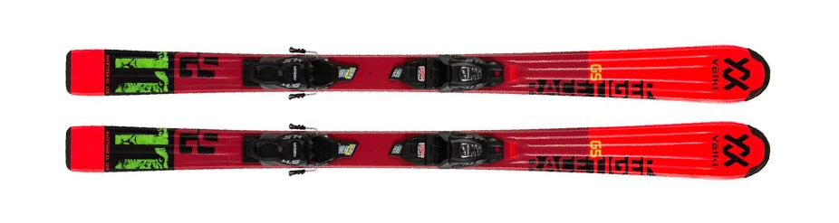 Alquiler de esquís VÖLKI JR RACETIGER rojo